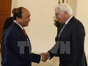 Entrevue entre le Premier ministre vietnamien et le président allemand