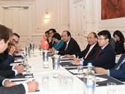 Le PM rencontre des dirigeants d'entreprises néerlandaises