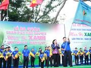 Ho Chi Minh-Ville : lancement de la campagne de volontariat «Eté vert 2017»