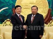 Le leader du PPRL souligne le rôle de l'Association d'amitié Vietnam-Laos