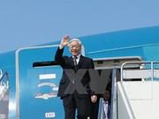 Le secrétaire général du PCV part pour le Cambodge