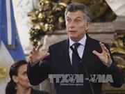 Le président argentin salue les réalisations économiques du Vietnam