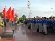 Les jeunes de Hô Chi Minh-Ville participent aux activités bénévoles au Laos