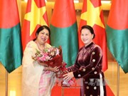 La présidente du Parlement bangladais termine sa visite au Vietnam