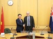 Le vice-Premier ministre Vuong Dinh Hue en visite officielle en Nouvelle-Zélande