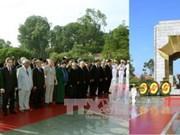 27 juillet : les dirigeants du Parti et de l'Etat rendent hommage aux morts pour la Patrie