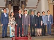 Ho Chi Minh-Ville reçoit une délégation de l'association NEAR