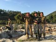 Pour édifier une frontière de paix, d'amitié et de développement Vietnam-Laos