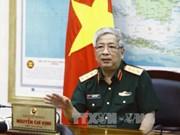 Le vice-ministre de la Défense Nguyen Chi Vinh reçoit un général birman