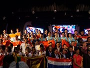 Le Vietnam médaillé d'or lors du Concours international des mathématiques 2017 en Inde