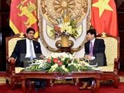 Vietnam et Sri Lanka renforcent la coopération dans le commerce et l'investissement