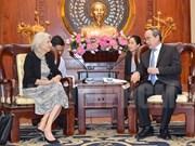 HCM-Ville souhaite renforcer sa coopération avec le Danemark et l'Argentine