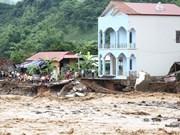 Aide de la Croix-Rouge du Vietnam pour les populations sinistrées des régions montagneuses du Nord