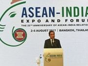 Le Vietnam était en Thaïlande pour le Forum et Exposition de l'ASEAN-Inde 2017