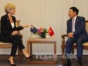 AMM-50 : rencontre entre le chef de la diplomatie vietnamienne et ses homologues