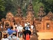 Croissance du nombre de touristes chinois au Cambodge