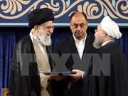 Le ministre Dao Viet Dung assiste à la cérémonie d'entrée en fonction du président iranien