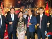 Le 52ème anniversaire de la Fête nationale de Singapour célébré à Hanoi