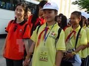 Les enfants vietnamiens et laotiens sont les héritiers  des liens d'amitié entre les deux pays