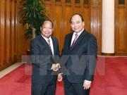 Le PM reçoit le ministre laotien de la Sécurité publique