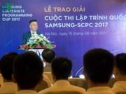 Des étudiants vietnamiens aux finales du concours international IT en R. de Corée