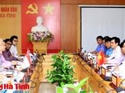 Hà Tinh déroule le tapis rouge aux investisseurs singapouriens