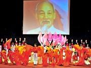 Programme artistique «Vietnam rayonnant» en l'honneur de la Fête nationale