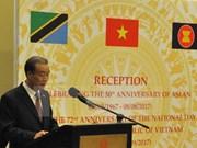 La 72e Fête nationale du Vietnam célébrée en Tanzanie et en Malaisie