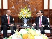 Le président Trân Dai Quang reçoit l'ambassadeur de Cuba au Vietnam