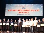 En 2017, 2.250 bourses Odon Vallet remises aux élèves et étudiants brillants