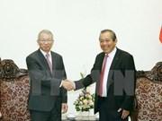 Vietnam-R. de Corée : entretien entre les présidents de la Cour suprême