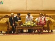 Le secrétaire général Nguyen Phu Trong effectue une visite d'État au Myanmar