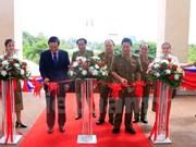 Exposition sur la coopération entre les ministères de la Sécurité publique Vietnam-Laos