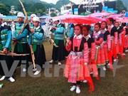 Môc Châu: exposition-foire de commerce et de tourisme Vietnam - Laos