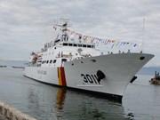 Le navire Badaro de la Garde-côte sud-coréenne à Da Nang