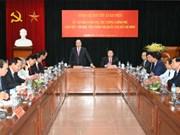 Le PM Nguyen Xuan Phuc à l'Académie nationale de politique Ho Chi Minh