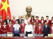 Le PM félicite les sportifs vietnamiens aux SEA GAMES 29