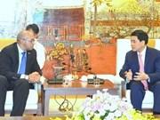 Favoriser la coopération entre Hanoï et les localités cubaines