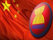 La Chine privilégie la coopération commerciale avec l'ASEAN