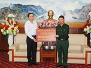 Assistance des sinistrés à Lao Cai