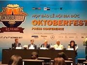 Le festival de la bière d'Oktoberfest 2017 se tiendra à Ho Chi Minh-Ville et Hanoi