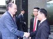 Vietnam et Brésil promeuvent les relations d'amitié entre les deux peuples