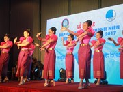 Clôture de la rencontre d'amitié entre les jeunes Vietnam – Cambodge