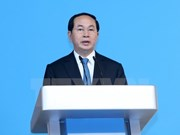 Message de félicitation du président vietnamien au président de l'AIPA-38