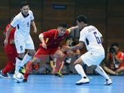 Asian Indoor Games 2017: l'équipe du Vietnam de futsal déterminée à s'illustrer