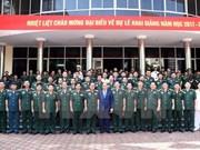 Le Premier ministre exhorte l'Académie de la défense à réformer ses programmes de formation