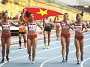 L'athlétisme vietnamien se couvre d'or aux SEA Games 29