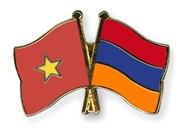 Echange d'amitié en l'honneur de l'établissement des relations diplomatiques Vietnam-Arménie