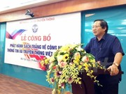 Publication du livre blanc sur les TIC 2017 du Vietnam