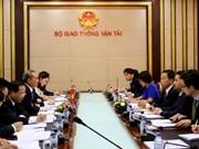 Vietnam et Japon coopèrent dans les transports